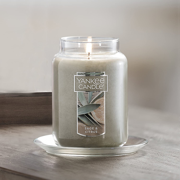 Nến Hũ Sage & Citrus Yankee Candle