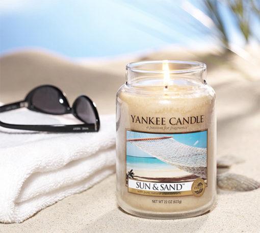 Nến hũ Sun & Sand Yankee Candle