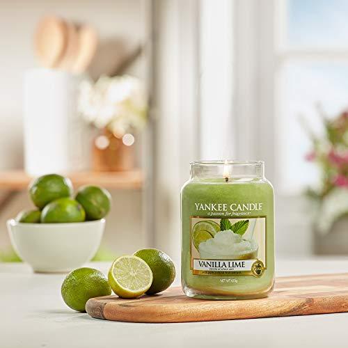 Nến hũ Vanilla Lime Yankee Candle
