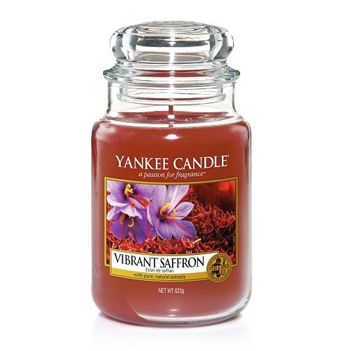 Nến thơm Yankee Candle Vibrant Saffron