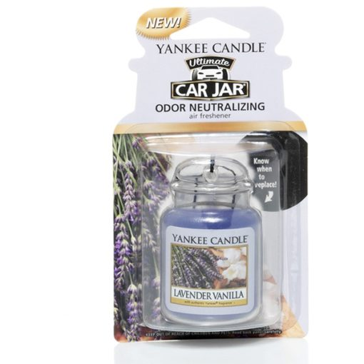 Sáp thơm xe ô tô Lavender Vanilla Yankee Candle