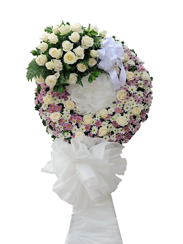Vòng hoa chia buồn - Kính Dâng