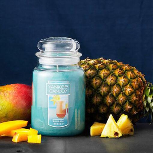 Nến Hũ Bahama Breeze Yankee Candle