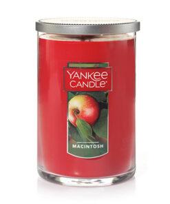 Nến thơm ly 2 tim Yankee Candle Macintosh