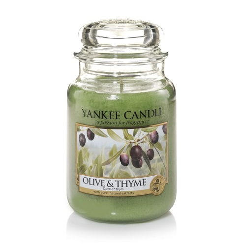 Nến thơm Yankee Candle Olive Thyme