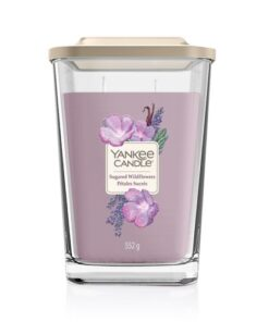 Nến thơm Yankee Candle Elevation Sugared Wildflower