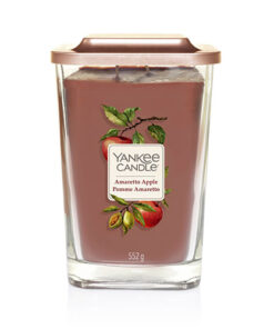 Nến ly Yankee Candle Elevation Amaretto Apple