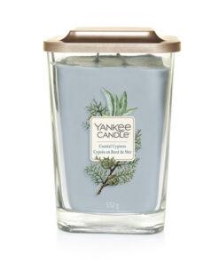 Nến ly Yankee Candle Elevation Coastal Cypress