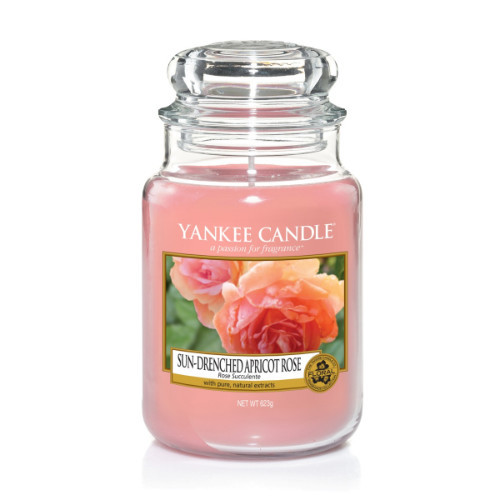 Nến Hũ Yankee Candle Sun-Drenched Apricot Rose