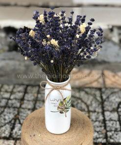 Bình hoa lavender khô - L0073