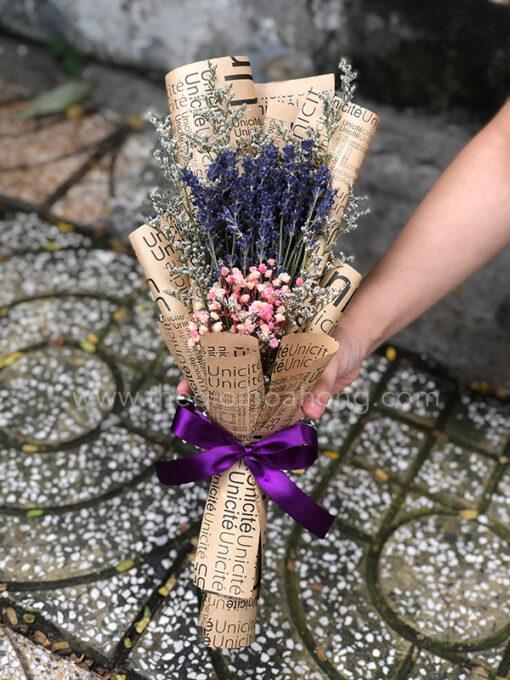 Bó hoa lavender khô L0072