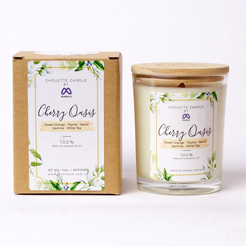 Nến thơm Chouette Candle Green Field