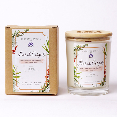 Nến thơm Chouette Candle Floral Carpet