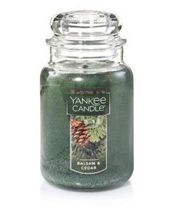 Nến Hũ Yankee Candle Balsam & Cedar