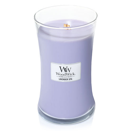 Nến Wood Wick Lavender Spa Hourglass