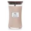 Nến WoodWick Vanilla & Sea Salt Hourglass