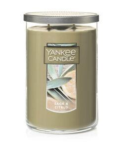 Nến Yankee Candle Sage & Citrus Tumbler