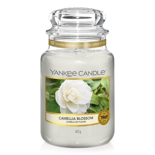 Nến hũ Yankee Candle Camellia Blossom