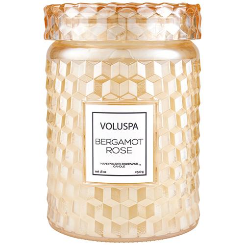 Voluspa Bergamot Rose - Large Jar Candle