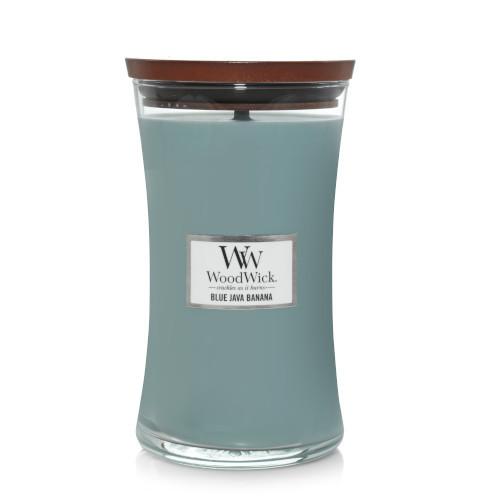 Nến WoodWick Blue Java Banana Hourglass