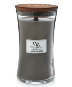 Nến WoodWick Sand & Driftwood Hourglass