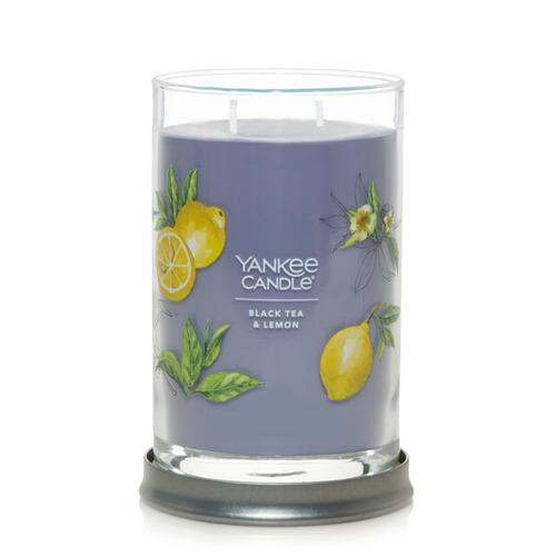 Nến Yankee Candle Black Tea & Lemon Signature Tumbler