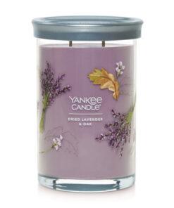 Yankee Candle Dried Lavender & Oak Signature Tumbler
