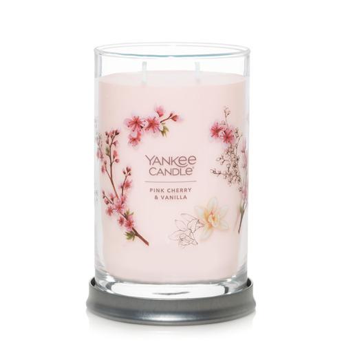 Nến Yankee Candle Pink Cherry & Vanilla Signature Tumbler