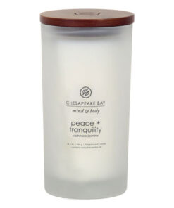 Nến Peace + Tranquility (cashmere jasmine) Chesapeake Bay Jar