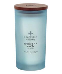 Nến Reflection + Clarity (sea salt sage) Chesapeake Bay Jar