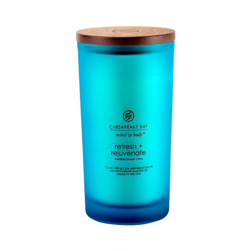 Nến Refresh + Rejuvenate (mediterranean citrus) Chesapeake Bay Jar