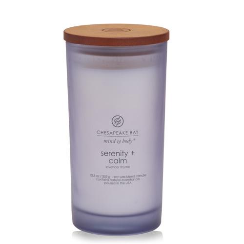Nến Serenity + Calm (lavender thyme) Chesapeake Bay Jar