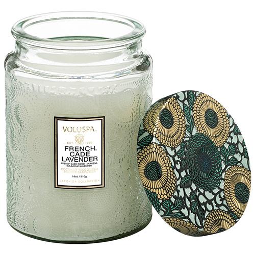 Nến Voluspa French Cade Lavender - Large Jar Candle