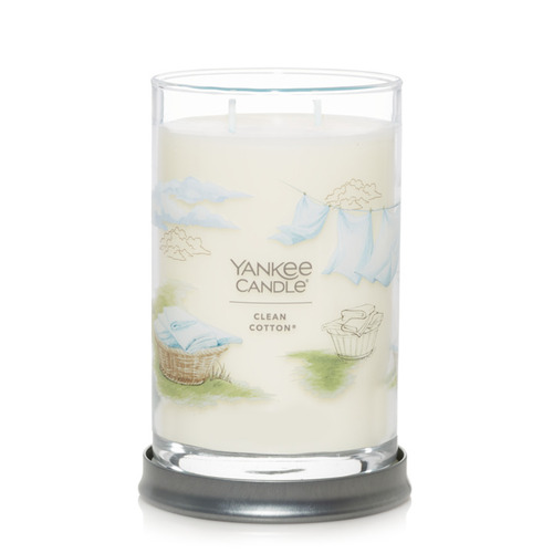 Nến Yankee Candle Clean Cotton Signature Tumbler