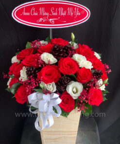 Hộp hoa tươi HT0240