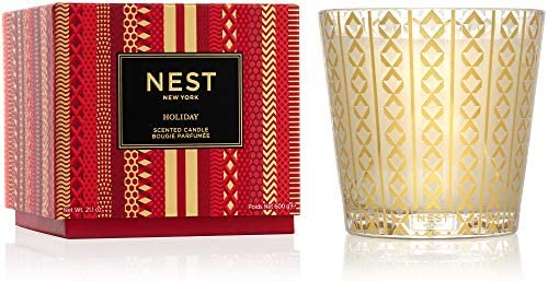 3-Wick Holiday Candle - Nest
