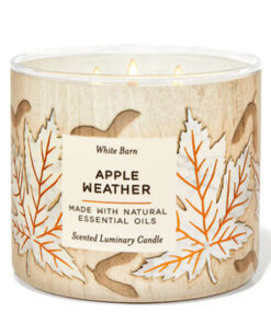 Nến thơm APPLE WEATHER 3-WICK CANDLE